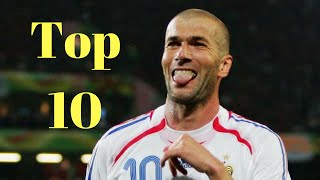 Zidane ● Top 10 ● Legendary Goals of All Time