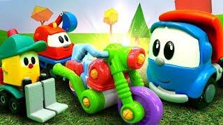 Игры с машинками для мальчиков. Гонки на мотоциклах с Левой