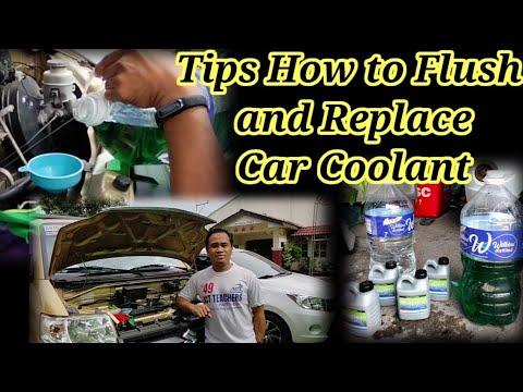 Radiator Coolant Flushing  Replace Radiator Coolant of Suzuki APV GA GLX │ Paano Magpalit ng Coolant