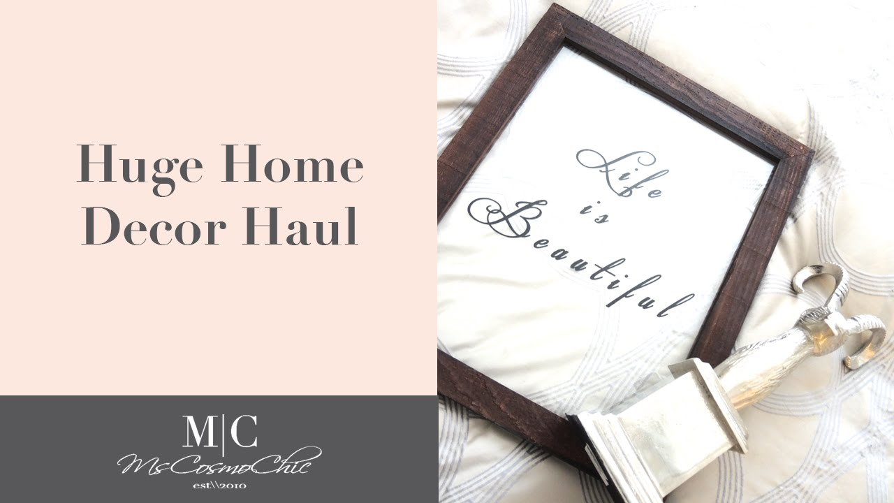 amazon home decor haul home decor haul home goods target anthropologie and 10342