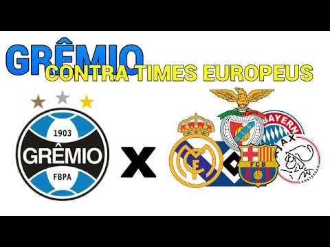 Todos os jogos do GRÊMIO contra times EUROPEUS - YouTube