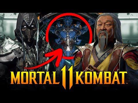 Mortal Kombat 11 - Noob Saibot Analysis, Shang Tsung Design Explained, New Stage & More!