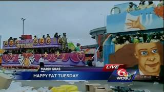 YOU ALREADY KNOW! Big Freedia gives Mardi Gras Day shout out on WDSU!