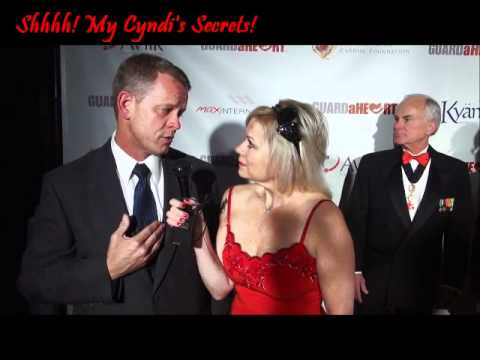 Chriss AnglinShines at the Guard a Heart Larry King Gala!