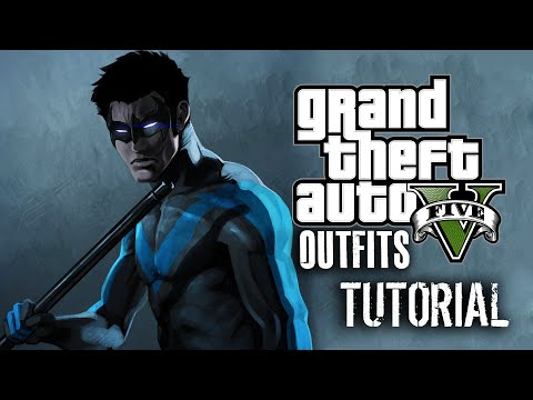 Gta 5 online nightwing outfit tutorial youtube gta 5 online nightwing outfit tutorial solutioingenieria Images