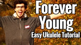 """This is my ukulele tutorial for """"forever young"""". i'm showing you how to play it in the key of c. can change here: http://ukulelecheats.com/alphav..."""
