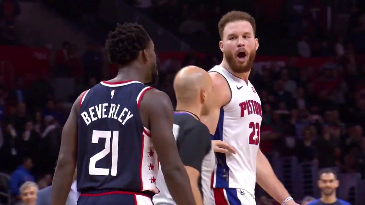 Blake Griffin And Patrick Beverley Exchanged Words After Game And Had To Get Separated