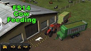 Fs14 Farming Simulator 14 - Cow Feeding / İnek Besleme Timelapse #33 screenshot 5