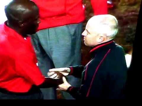 White Guy Handshake Or Black Guy Handshake?  Confusion Reigns.