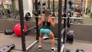 As musas Aline Barreto e Thaíssa Fit ( glúteos, quadríceps e posteriores de coxas)