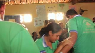 Samba de Coco, aldeia Quiridalho, TI Kapinawa