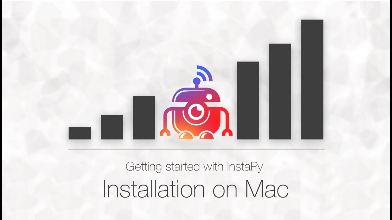 Official InstaPy - MacOS Installation