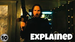 John Wick Chapter 3: Parabellum Trailer Explained