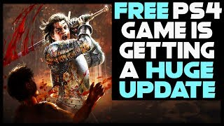 FREE PS4 GAME GETTING BIG UPDATE + THQ HAS 80 GAMES IN DEVELOPMENT!