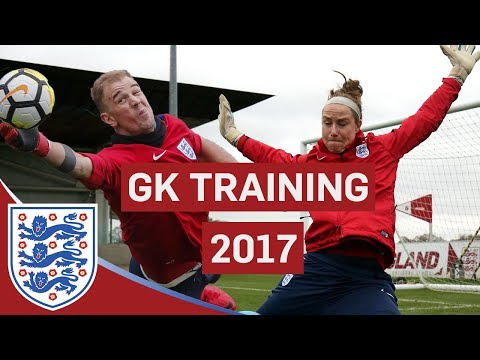 Best Moments From Goalkeeper Training 2017! | Featuring Hart, Pickford And Bardsley