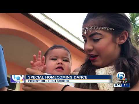 Forest Hill High School junior on hospice attends homecoming