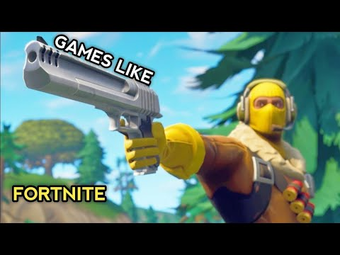 Top 7 Games Like Fortnite For Android And IOS