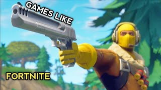 Top 7 Best Games Like Fortnite For Android And iOS | Games Similar To Fortnite On Android