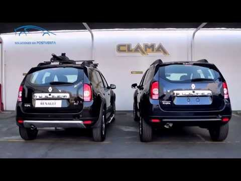 Accesorios para Renault Duster - Renault Clama - Dossier