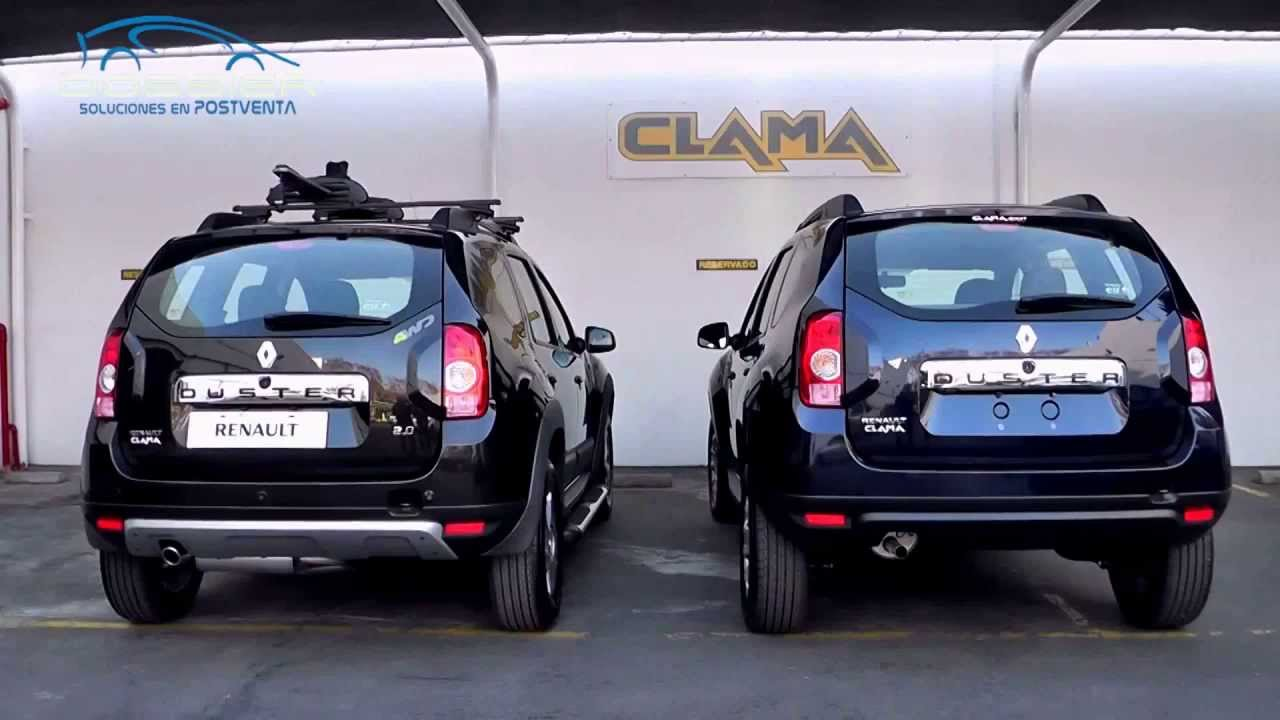 accesorios para renault duster renault clama dossier youtube. Black Bedroom Furniture Sets. Home Design Ideas