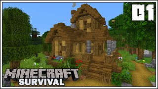 Let's Build a Village!!! ► Episode 1 ►  Minecraft 1.15 Survival Let's Play