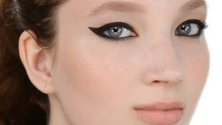 Bold Winged Eyeliner Look (also great for hooded eyeshapes) Thumbnail