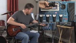 Roland GR-55 Guitar Synthesizer : Overall Review Demo