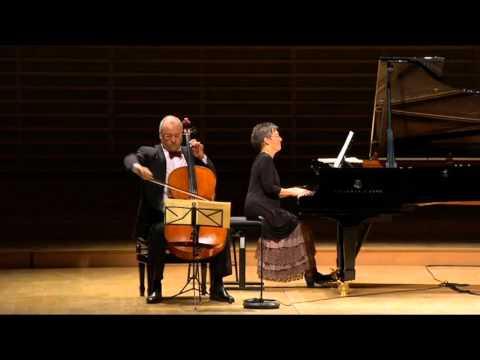 Schubert - Arpeggione Sonata in A minor D.821 | António Meneses and Maria João Pires