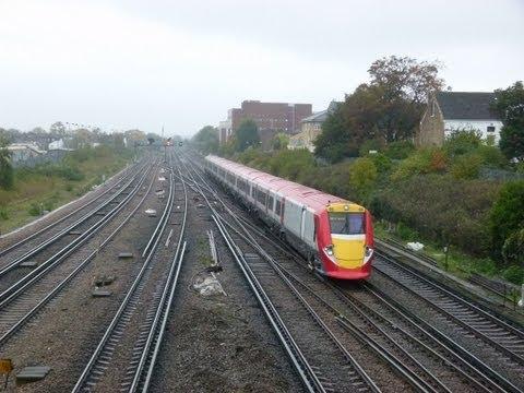 Wimbledon, St Margaret's, North Sheen, Richmond, Acton Main Line & London Paddington (25-10-2012)