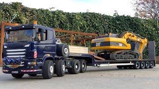 BRUDER trucks 🚚 Tunnel Project ♦ Bruder EXCAVATOR LOADER ♦ Bruder Toy Kid play