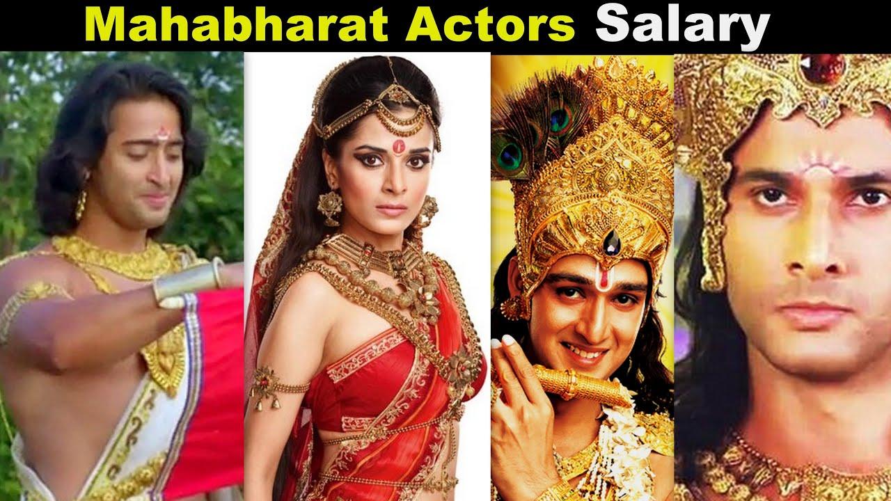 mahabharat actors salary for per day   salary of mahabharat actors 2013   tn trend