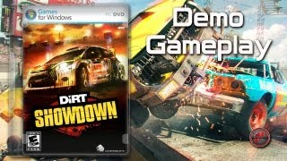 ▶ DiRT® Showdown™ - Demo Gameplay [PC, ENG]