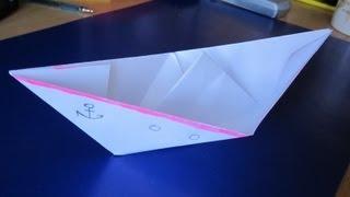 Как Сделать Кораблик из бумаги(Как сделать своими руками оригами кораблик из бумаги? Sekretmastera предлагает инструкцию по постройки такого..., 2013-04-06T15:04:30.000Z)