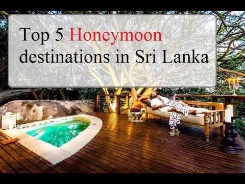 Top 5 Honeymoon destinations in Sri Lanka