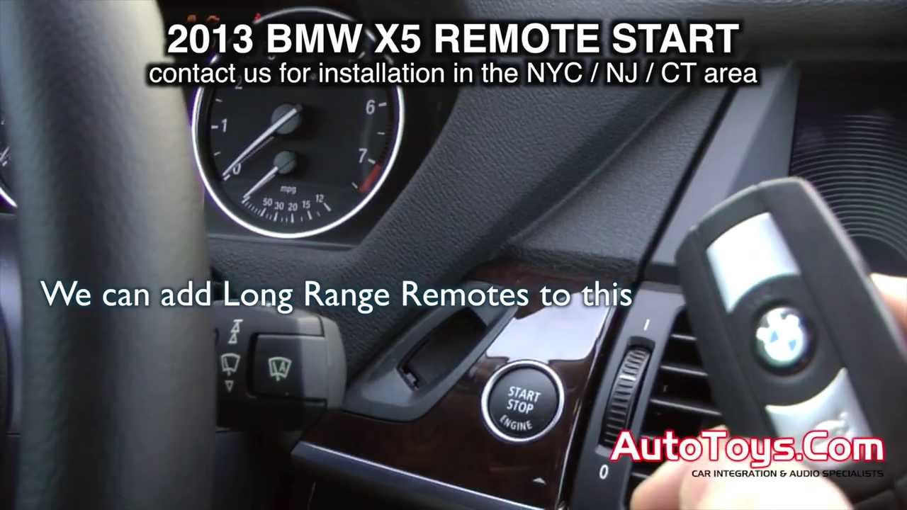 Bmw X5 F15 Remote Start From Factory Transmitters By