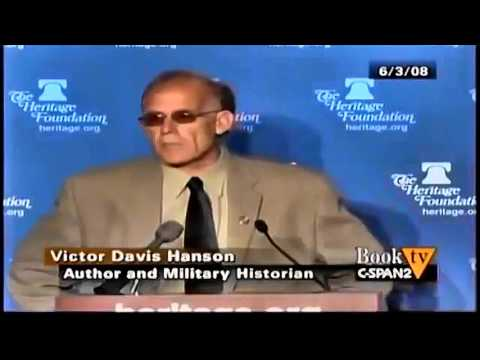 Victor Hanson: Western Ideology Eroding, Multiculturalism, Pacifism, Morals [Enhanced] [Complete]