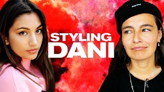 Styling the BFF Dani *NO BAGGY CLOTHES* ~ NAYVA Ep #45 ~ FASHION & BEAUTY