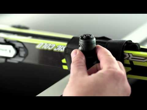 Thule 7291 SkiClick Cross Country Ski Carrier Demonstration Video