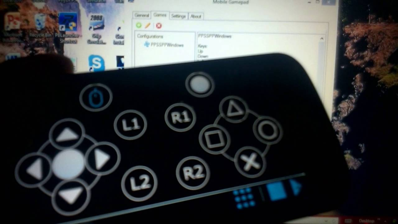 Cara main game PC pake Android (Mobile Gamepad) - YouTube