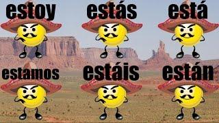 The ESTAR Song - Spanish Conjugation Song - Verbo Estar - Learn Spanish