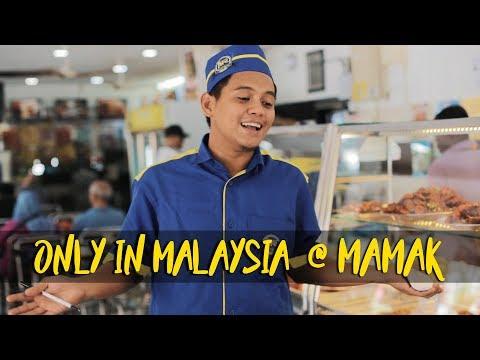 """""""BOSS ! Teh Tarik satu"""" Only In Malaysia @Mamak"""
