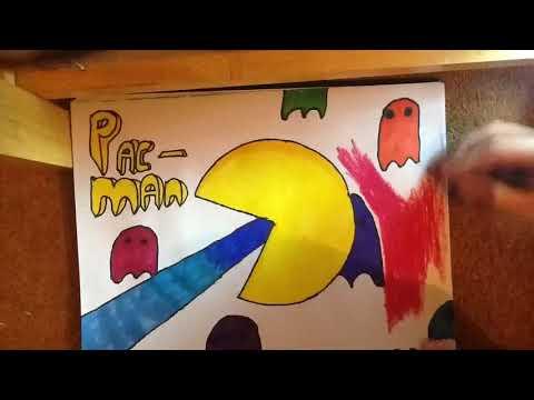 Pac Man Poster 2