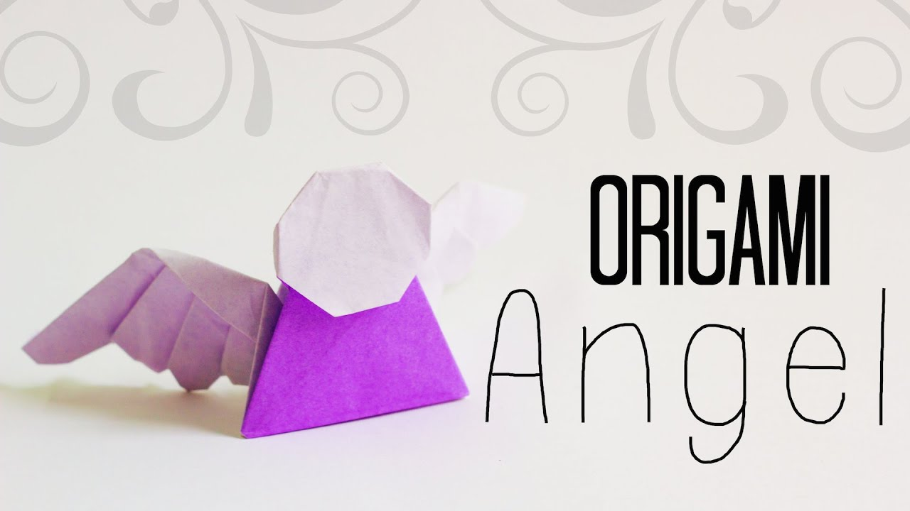origami angel step by diagram three prong massager how to make an easy tadashi mori youtube