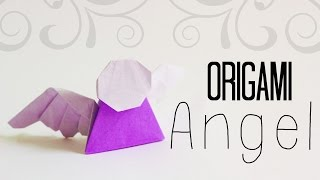 How To Make An Easy Origami Angel (tadashi Mori)