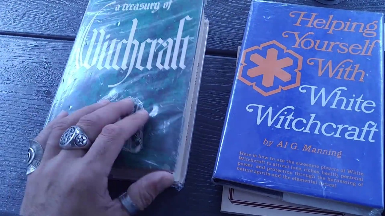 Traditional Witchcraft Books that I Collect & Recommend