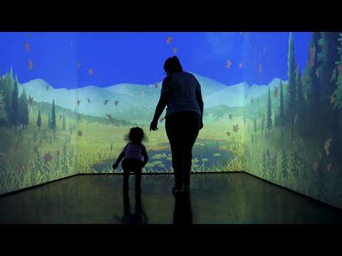 In Tune with Nature - Interactive Immersive Room