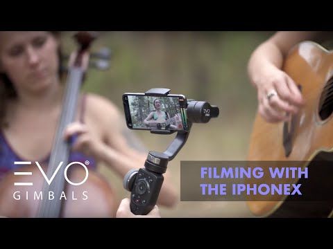 Filming With The IPhone X | EVO PRO Gimbal For Smartphones