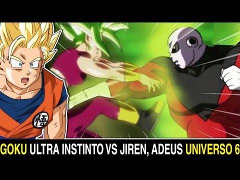 JIREN ELIMINA KEFLA e ataca GOKU MIGATTE NO GOKU'I ??! Dragon ball super ep 115