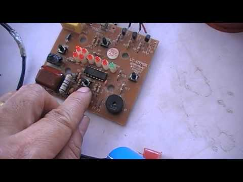 วิธีการซ่อมพัดลม (ปฏิบัติ 5 ) แผงวงจรควบคุม