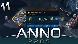 ANNO 2205 Gameplay - Cybernetics Factory #11